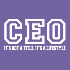 CEO - Ladies Tri-Blend V-Neck T Design
