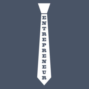 Entrepreneur Tie - Ladies Tri-Blend T Design