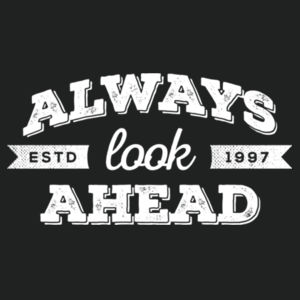 Always Look Ahead - Lace Hooded Sweatshirt Design