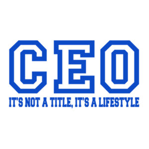 CEO Blue - 12 x 12 Canvas (Wrapped) Design