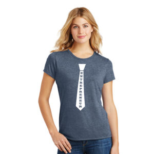 Entrepreneur Tie - Ladies Tri-Blend T Thumbnail