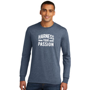 Harness Your Passion - Adult Tri-Blend Long Sleeve T Thumbnail