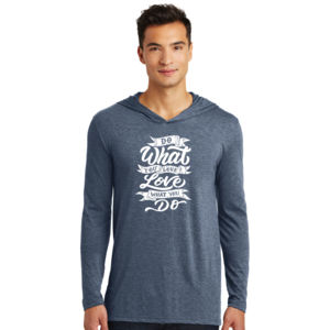 Do What You Love - Adult Tri-Blend Long Sleeve Hoodie Thumbnail