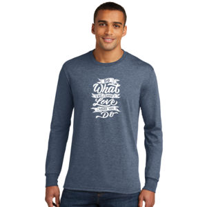 Do What You Love - Adult Tri-Blend Long Sleeve T Thumbnail