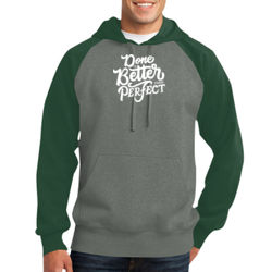Done Is Better Than Perfect - Adult Colorblock Sweatshirt Thumbnail
