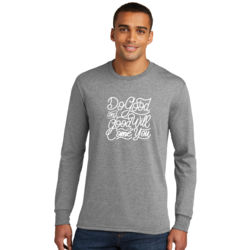 Do Good And Good Will Come to You - Adult Tri-Blend Long Sleeve T Thumbnail
