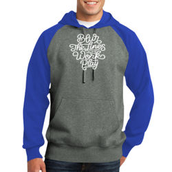 Blur the Lines - Adult Colorblock Sweatshirt Thumbnail