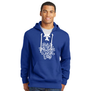 Blur the Lines - Lace Hooded Sweatshirt Thumbnail