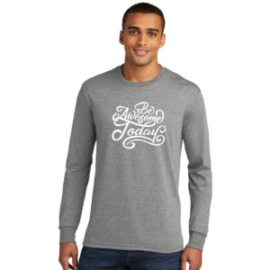 Be Awesome Today - Adult Tri-Blend Long Sleeve T Thumbnail