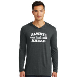 Always Look Ahead - Adult Tri-Blend Long Sleeve Hoodie Thumbnail