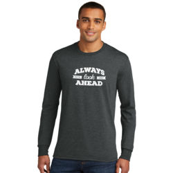 Always Look Ahead - Adult Tri-Blend Long Sleeve T Thumbnail