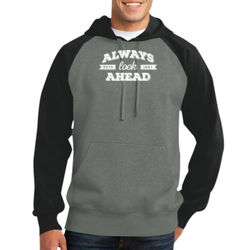 Always Look Ahead - Adult Colorblock Sweatshirt Thumbnail