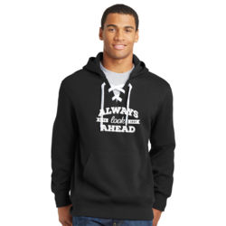 Always Look Ahead - Lace Hooded Sweatshirt Thumbnail