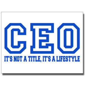 CEO Blue - 18 x 24 Wall Decal Thumbnail