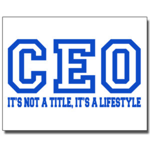 CEO Blue - 11 x 14 Wall Decal Thumbnail