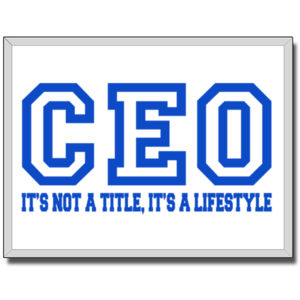 CEO Blue - 18 x 24 Canvas (Wrapped) Thumbnail
