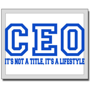 CEO Blue - 11 x 14 Canvas (Wrapped) Thumbnail