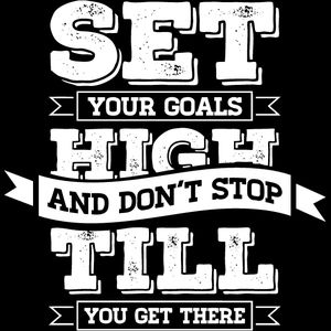Set Your Goals High Thumbnail